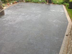 driveway cleaning treatment