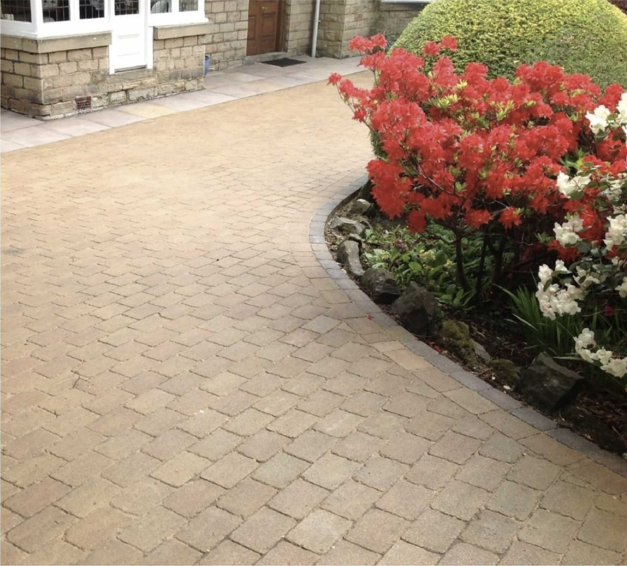 block paving cleaning treatment